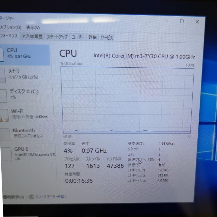 GPD WIN2 CPU